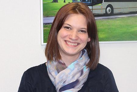 Sabrina DEVOS : Conseillère Département Autocars
